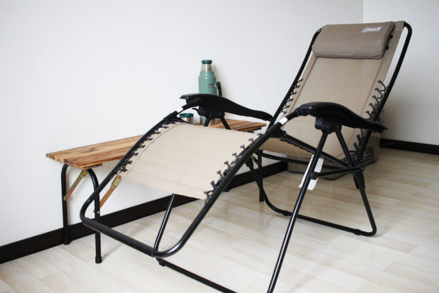 インフィニティチェア(コールマン)は最強のととのい椅子!サウナや交互浴後に最高の無重力外気浴